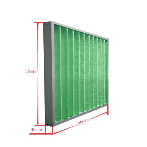 初效过滤器标准规格尺寸参数表图片