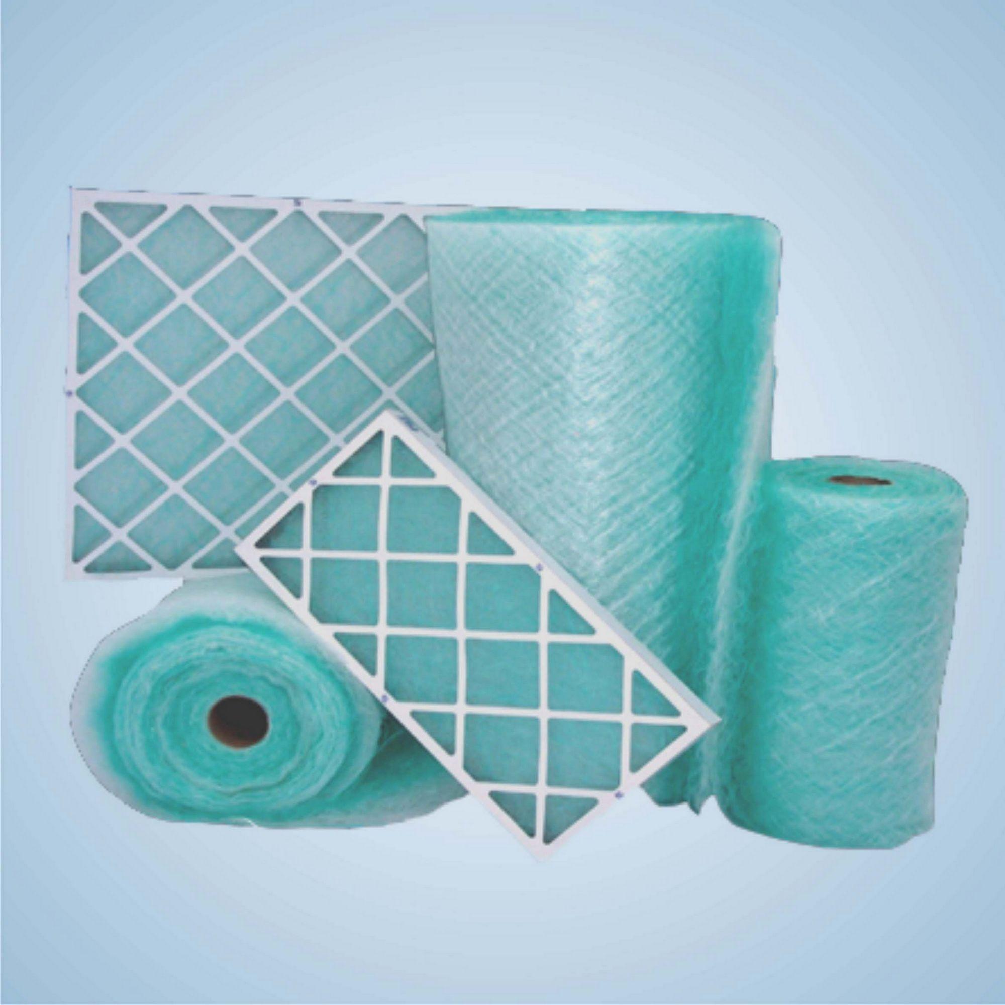 漆雾过滤棉是做高温初效过滤器的主要滤芯原料