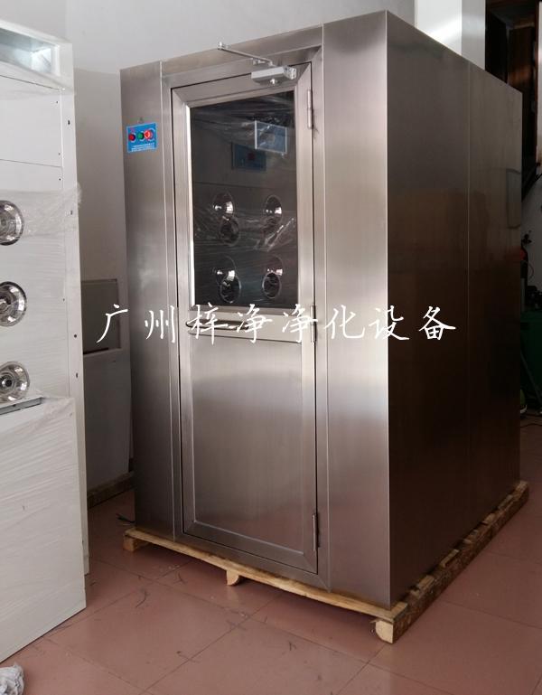 双人双吹全不锈钢风淋室采用优质304不锈钢制作