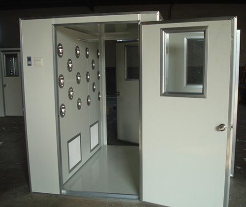 彩钢板风淋室常规配置手动吹淋