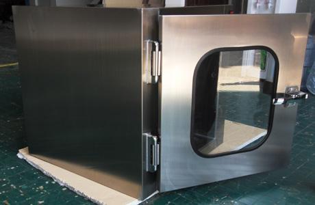 全不锈钢传递窗是一种洁净室的辅助设备