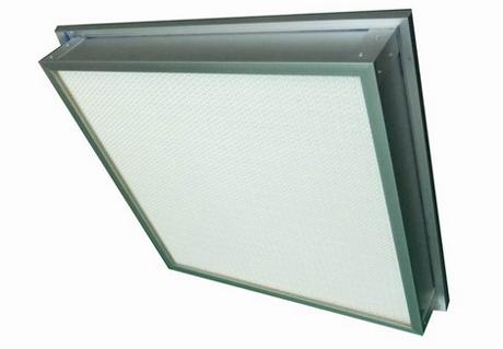 液槽式无隔板高效过滤器主要用于DOP检测的高效送风口里面