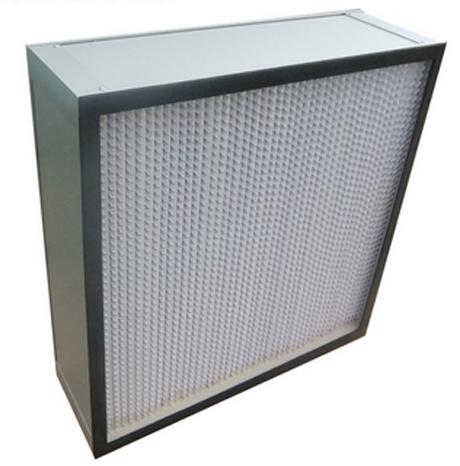铝框纸隔板高效过滤器采用优质铝型材制作