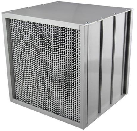 铝隔板高效过滤器采用隔板式设计