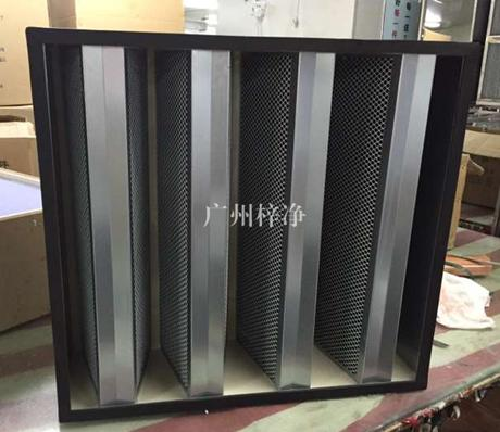 箱式活性炭过滤器拥有吸附性能强、含碳量高、使用寿命长。