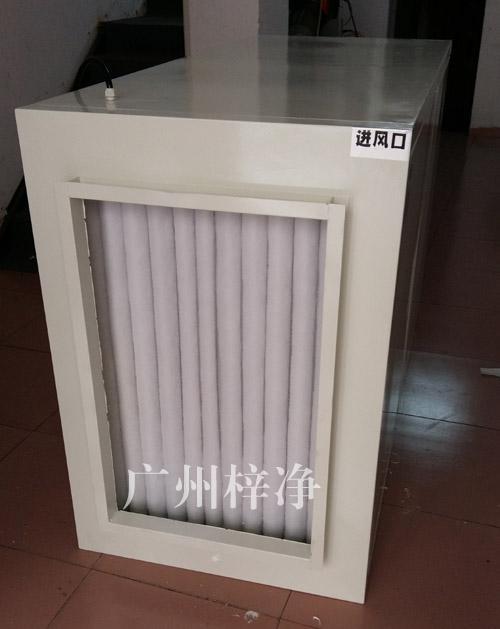 增压新风柜进风口设初效过滤器,主要过滤5um的灰尘