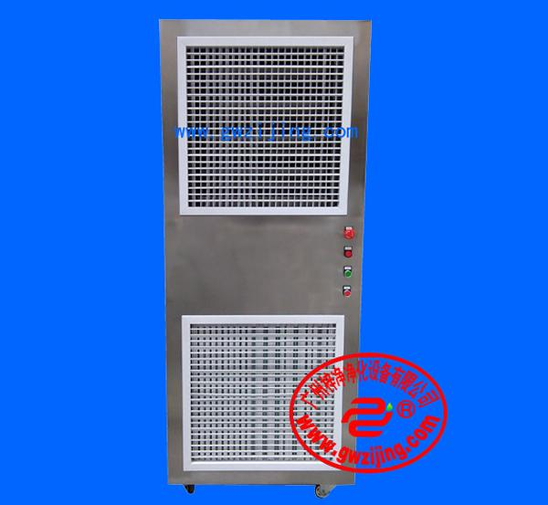 不锈钢空气净化器可单独使用,也可多个联接组成状洁净区域