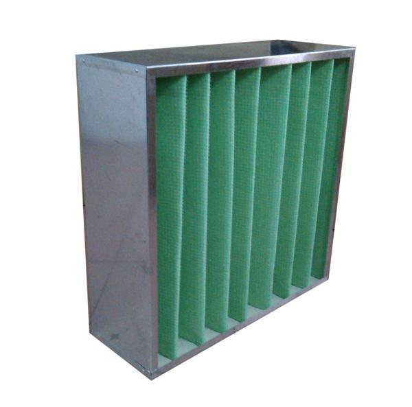 初效箱式过滤器容尘量大,风量大,能在超大风量的条件下正常使用。