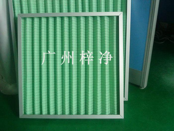 镀锌铁丝防护网初效过滤器图片